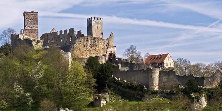 Burg Rötteln;  Foto: Staatliche Schlösser und Gärten Baden-Württemberg, Arnim Weischer