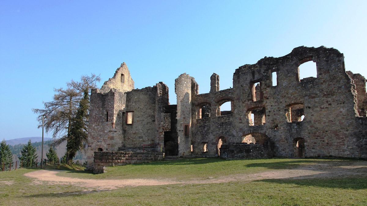 Ruine der Hochburg bei Emmendingen; Foto: Staatliche Schlösser und Gärten Baden-Württemberg, Corinna Greb