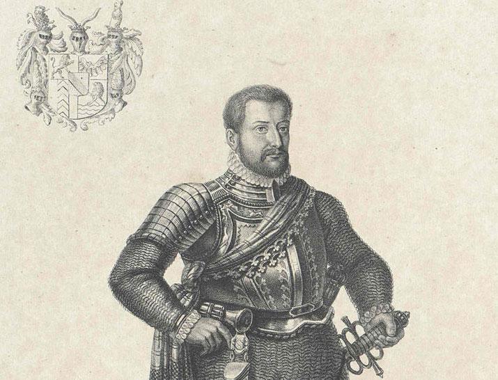 Markgraf Karl II. von Baden-Durlach; Foto: Österreichische Nationalbibliothek, Urheber unbekannt