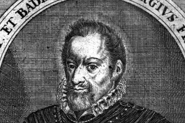 Brustbild des Markgrafen Georg Friedrich von Baden-Durlach