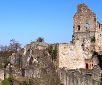 Oberburg der Hochburg bei Emmendingen;  Foto: Staatliche Schlösser und Gärten Baden-Württemberg, Corinna Greb