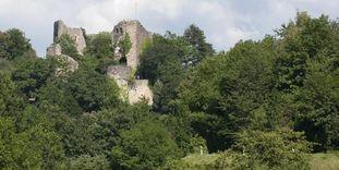 Château-fort de Badenweiler, Vue extérieure