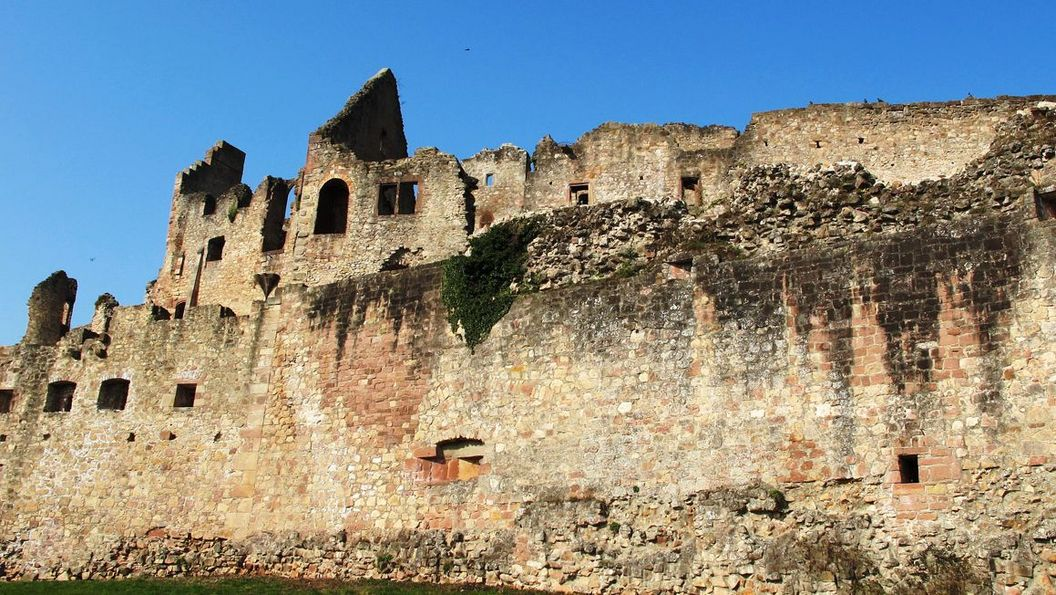 Ruinen der Oberburg der Hochburg bei Emmendingen