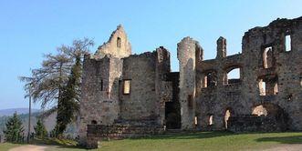 Ruinen der Hochburg bei Emmendingen;  Foto: Staatliche Schlösser und Gärten Baden-Württemberg, Corinna Greb