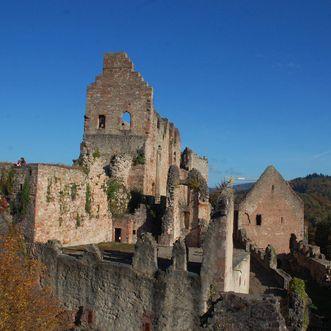 Hochburg Castle, Exterior view