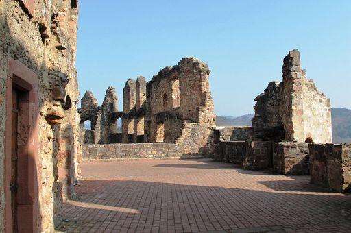 Ruinen der Hochburg bei Emmendingen