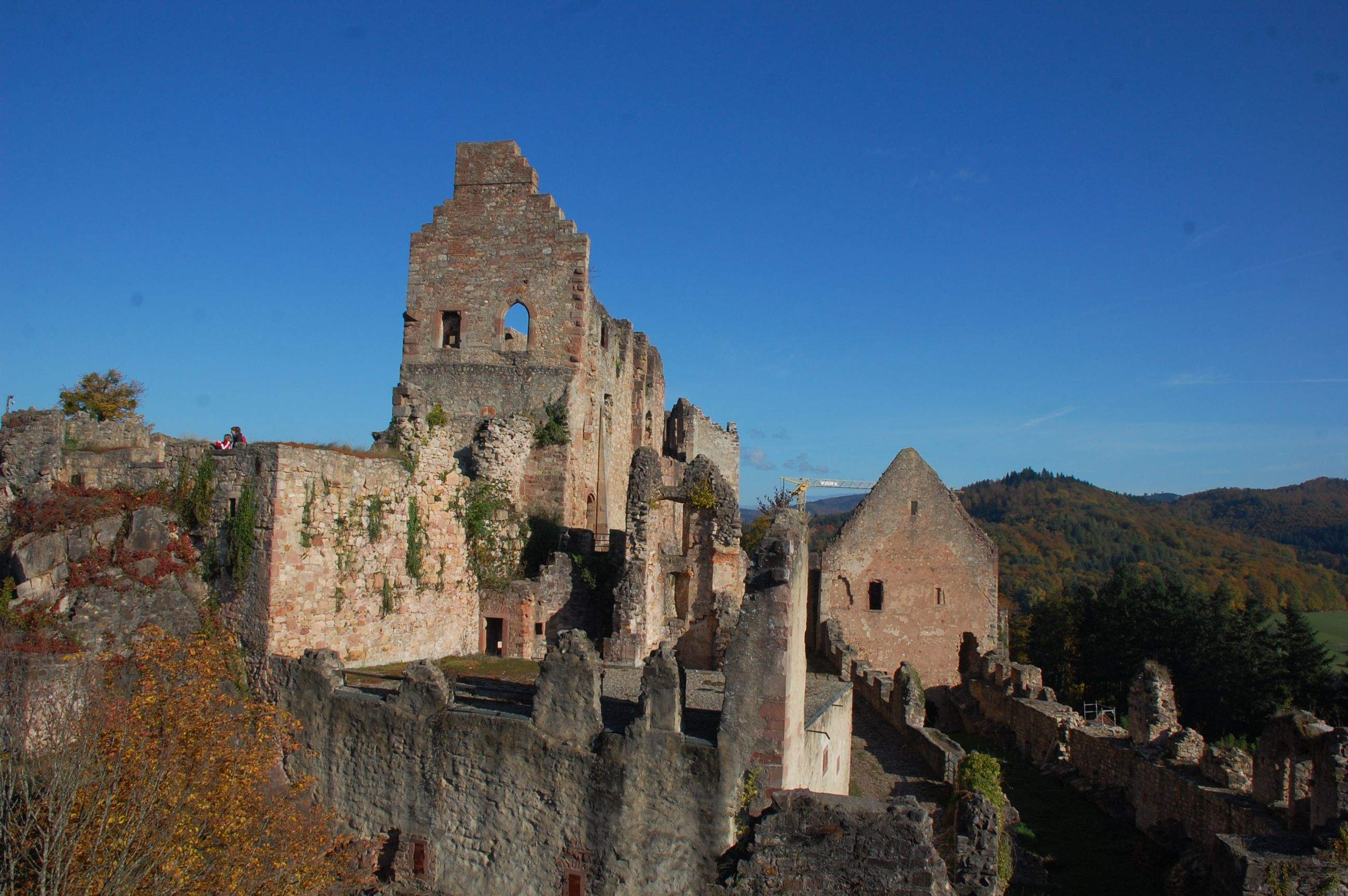 Außenansicht der Burg Emmendingen
